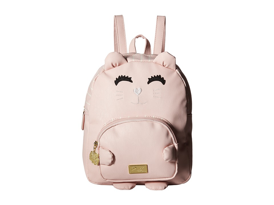 Luv Betsey - Kitty PVC Kitch Mini Backpack (Blush) Backpack Bags