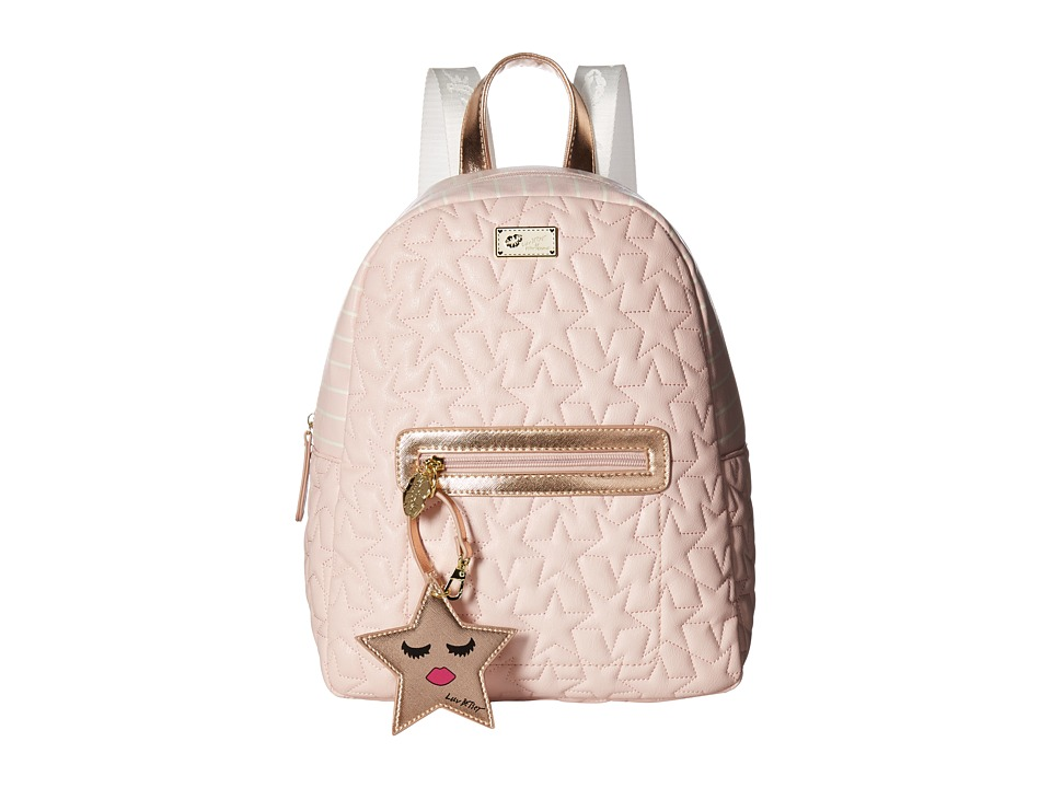 Luv Betsey - Demi PVC Backpack (Blush) Backpack Bags