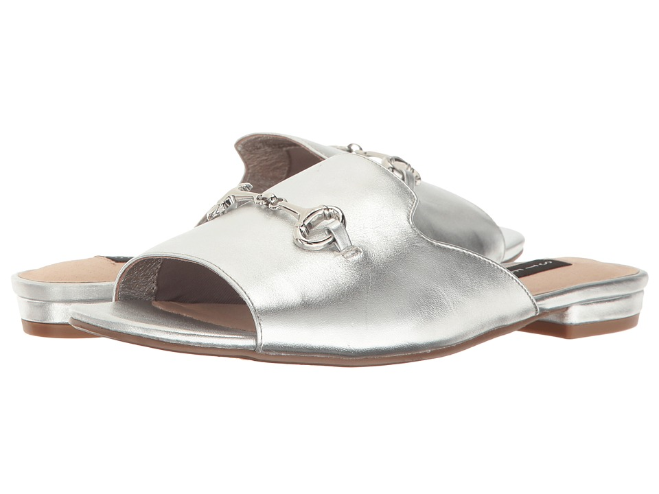 Steven - Fela (Silver Leather) Women's Shoes