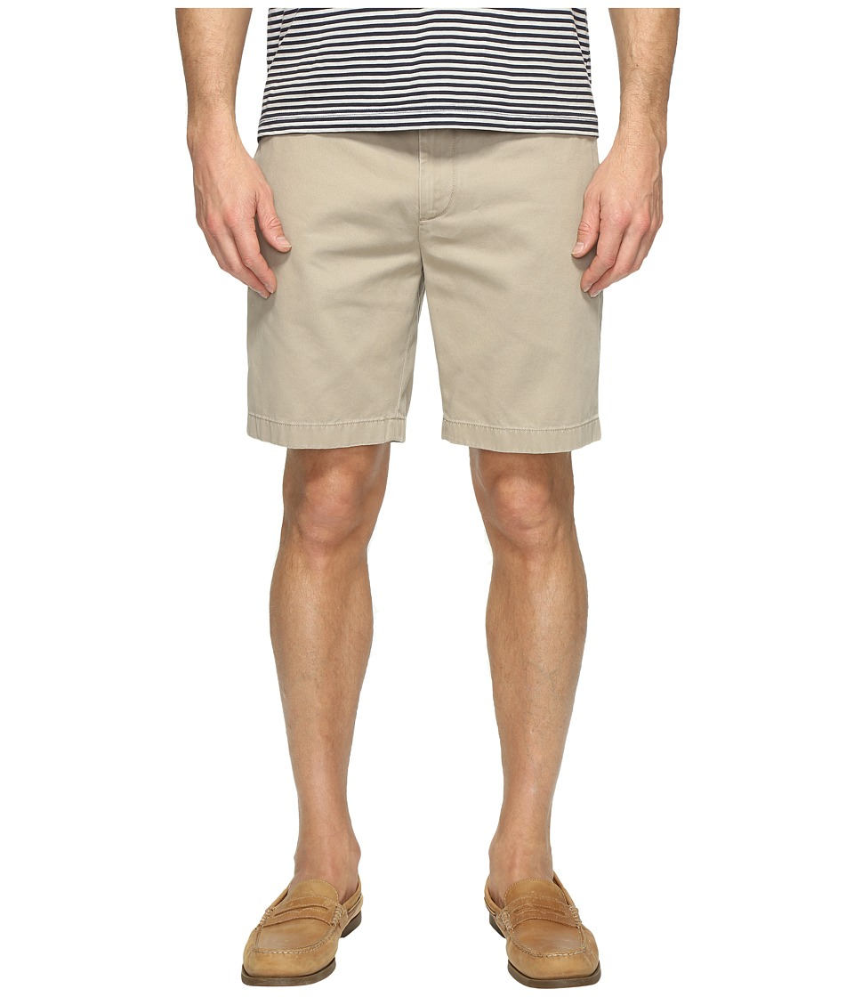 Nautica - Anchor Twill Flat Front Shorts (True Khaki) Men's Shorts