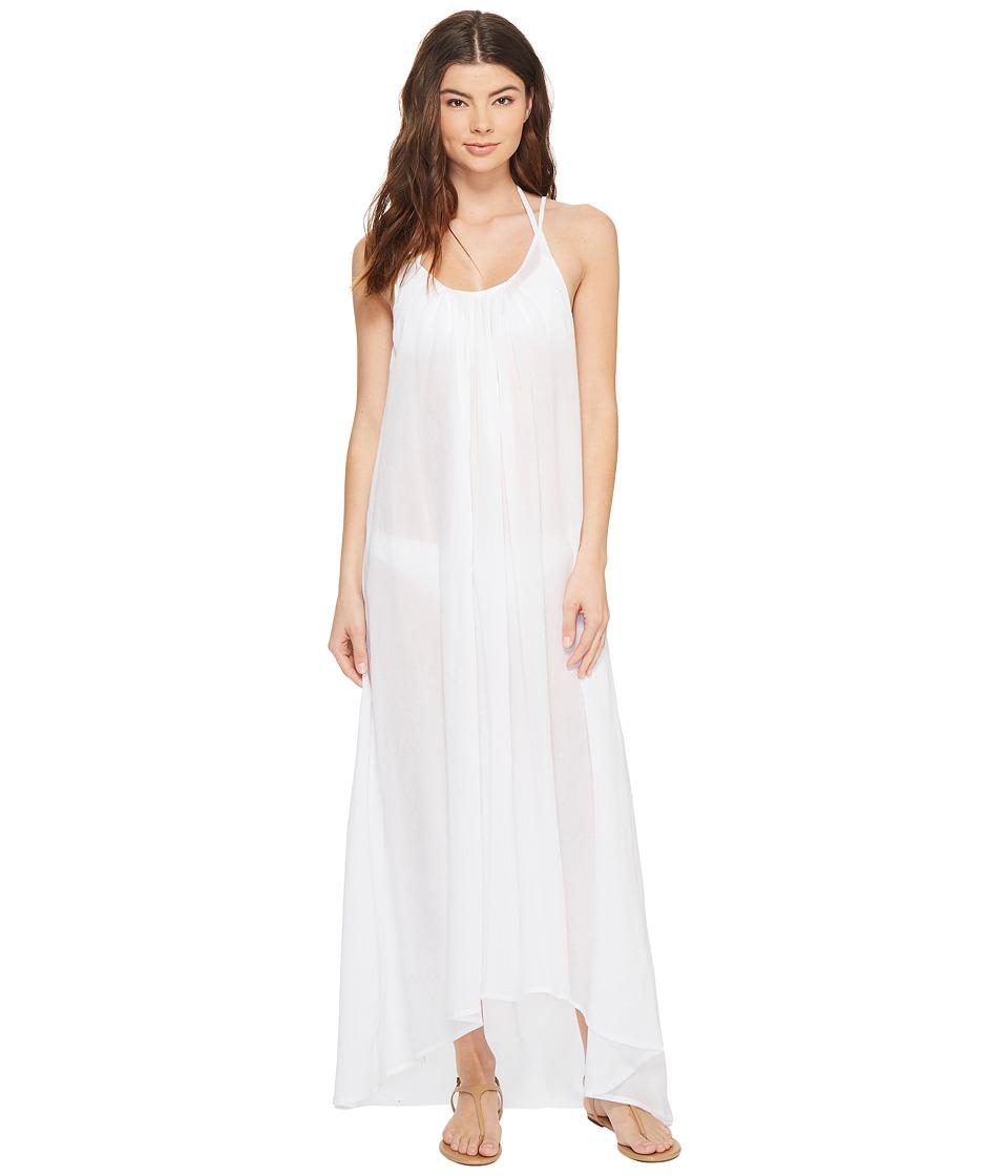MIKOH SWIMWEAR - Biarritz Maxi Dress Cover-Up (Foam) Women's Dress