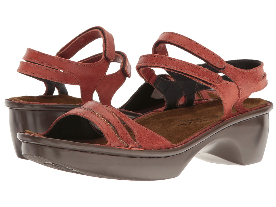 Naot Footwear - Panama (Brick) Women's Shoes
