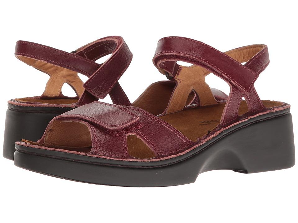 Naot Footwear - Muricia (Merlot) Women's Shoes