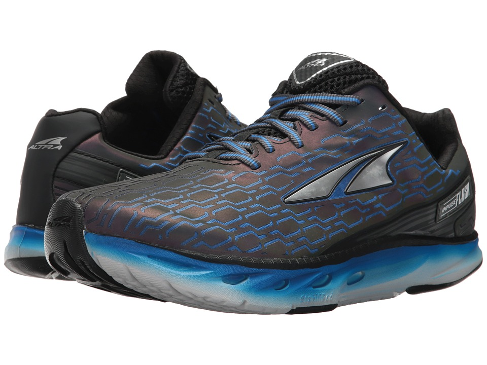 Altra Footwear - Impulse Flash (Black/Blue) Men's Shoes