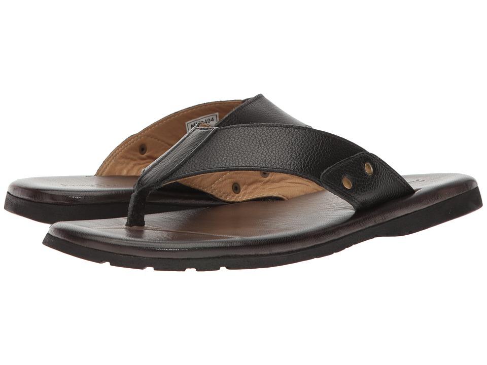 Massimo Matteo - Rio (Black) Men's Sandals