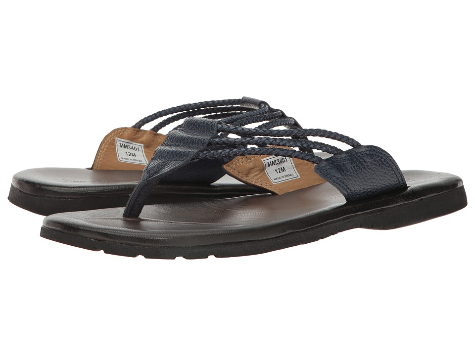 Massimo Matteo - Brasilia (Blue) Men's Sandals