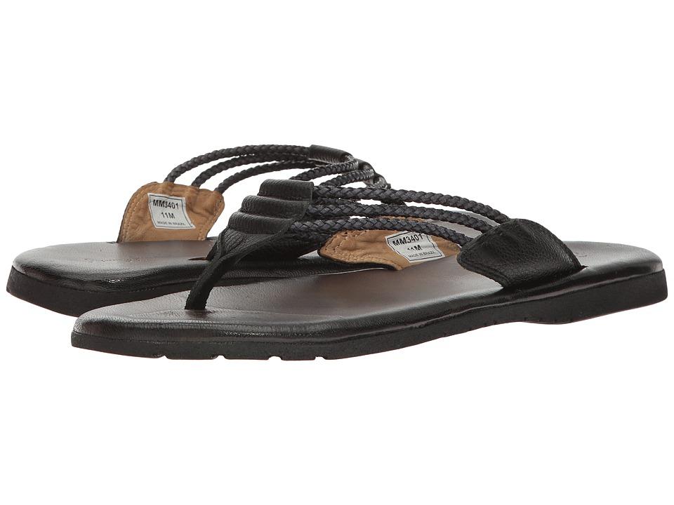 Massimo Matteo - Brasilia (Black) Men's Sandals