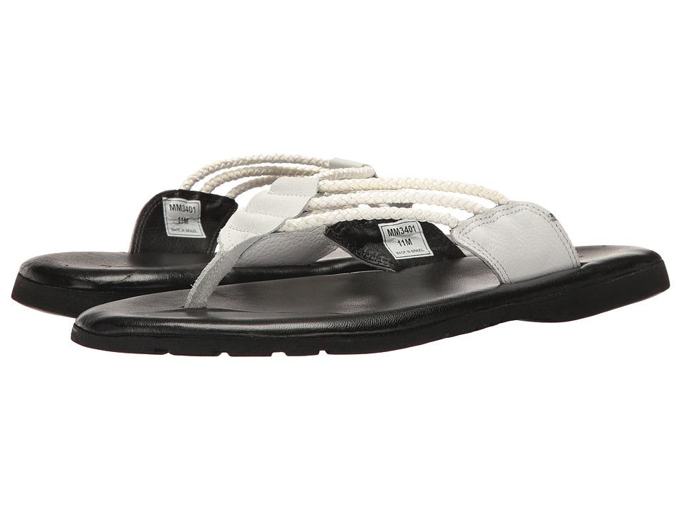 Massimo Matteo - Brasilia (White) Men's Sandals