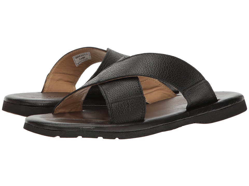 Massimo Matteo - Sao Paulo (Black) Men's Sandals