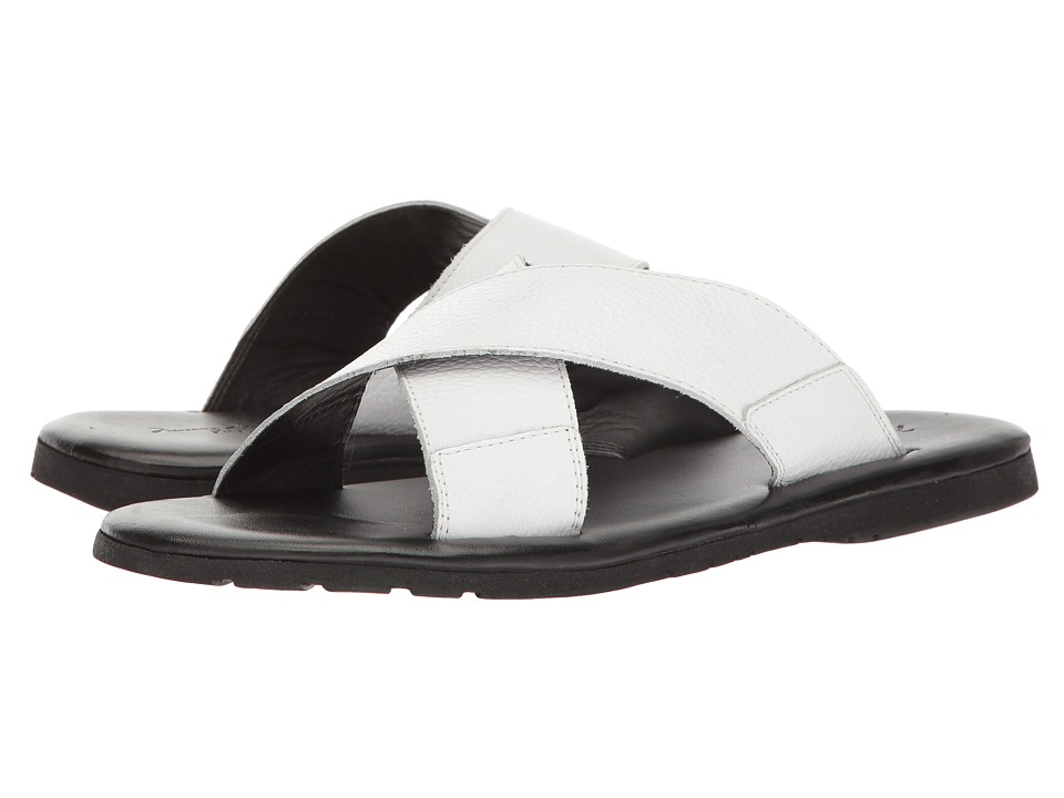 Massimo Matteo - Sao Paulo (White) Men's Sandals