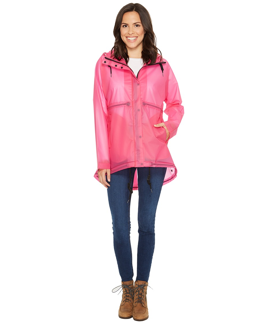 Hunter - Original Vinyl Clear Smock (Fuchsia) Women's Coat