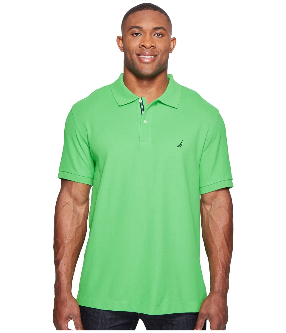 Nautica Big & Tall - Big Tall Short Sleeve Deck Shirt (Grass Blade) Men's Clothing