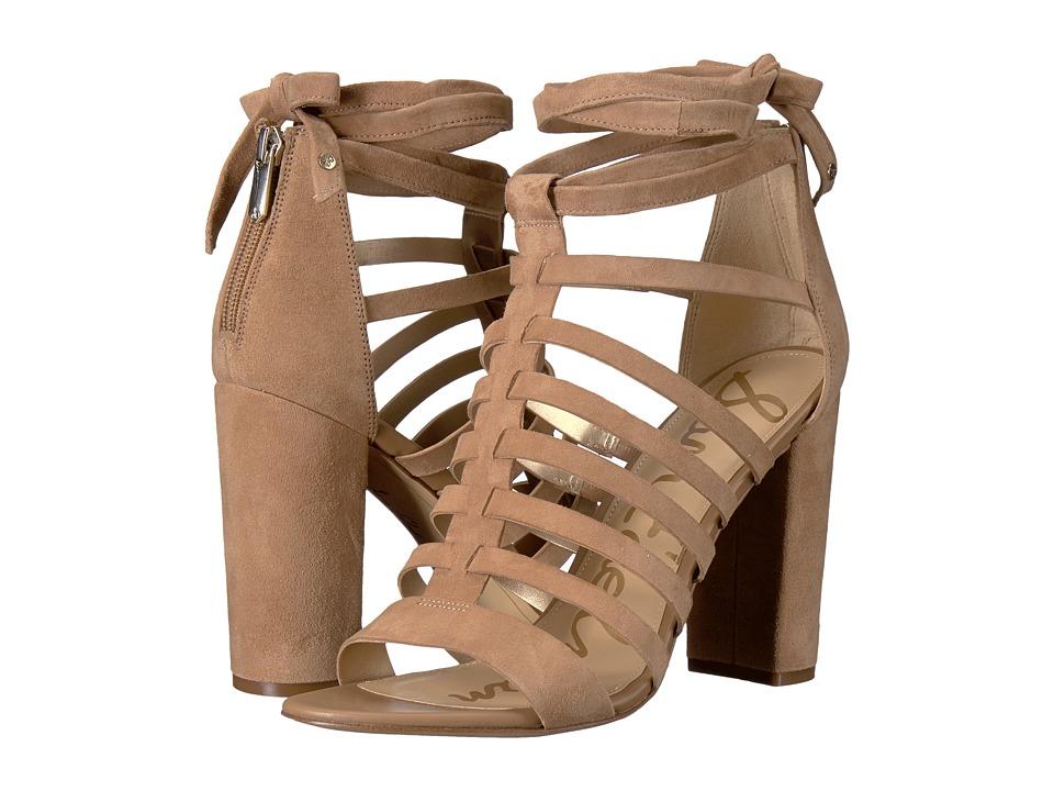 Sam Edelman - Yarina (Golden Caramel Kid Suede Leather) Women's Shoes