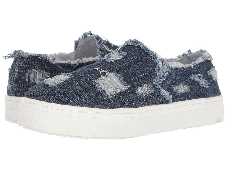 Sam Edelman - Lacey (Dark Blue Denim) Women's Slip on Shoes
