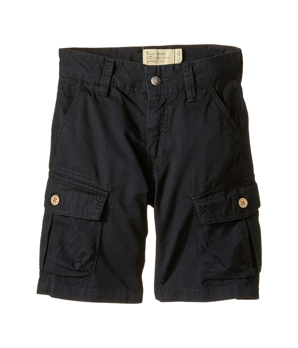 Lucky Brand Kids - Heritage Cargo Shorts in Twill (Little Kids/Big Kids) (Moonless Night) Boy's Shorts