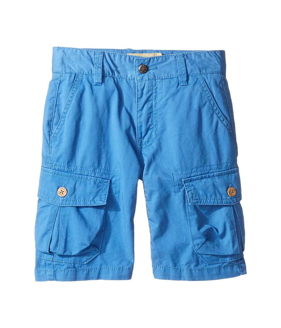 Lucky Brand Kids - Heritage Cargo Shorts in Twill (Little Kids/Big Kids) (Blue) Boy's Shorts