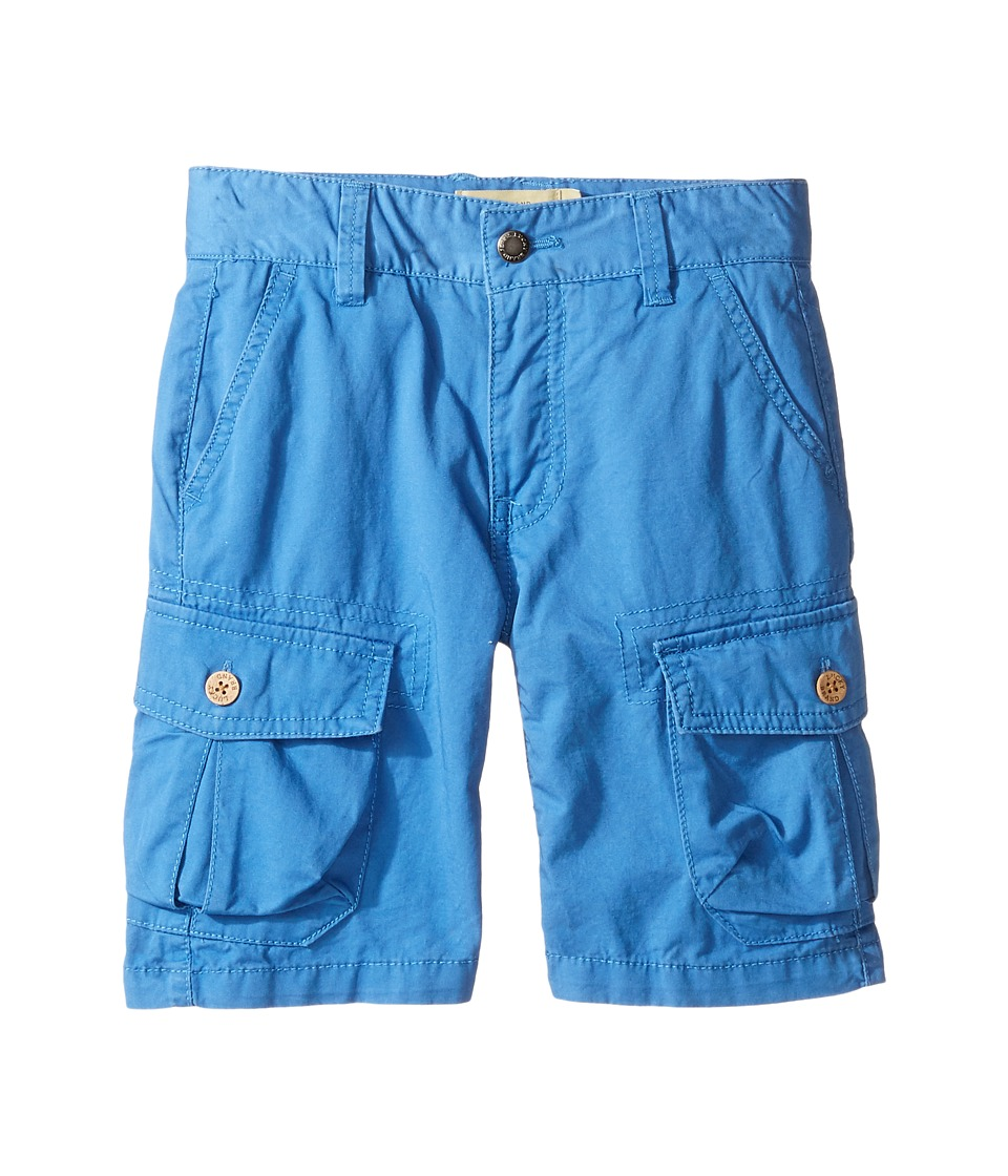 Lucky Brand Kids - Heritage Cargo Shorts in Twill (Toddler) (Blue) Boy's Shorts