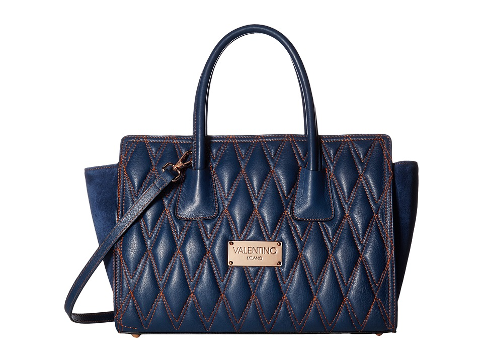 Valentino Bags by Mario Valentino - Kiria D (Blue Denim) Handbags