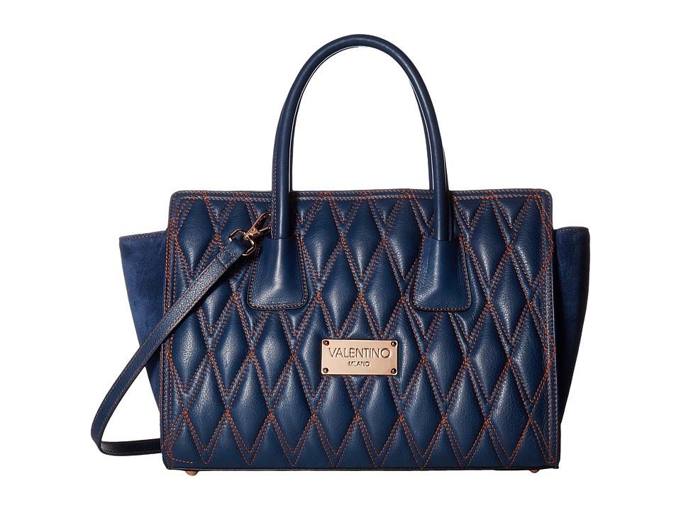 Valentino Bags by Mario Valentino - Kiria D (Blue Denim) Handbags