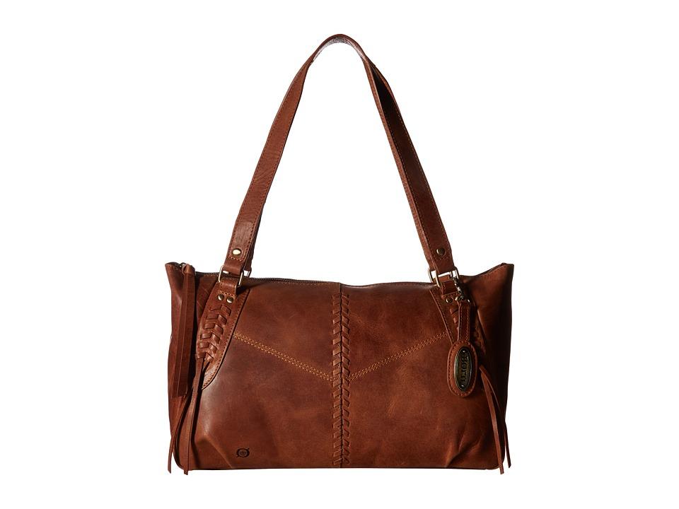 Born - Isanvi Tote (Saddle) Tote Handbags