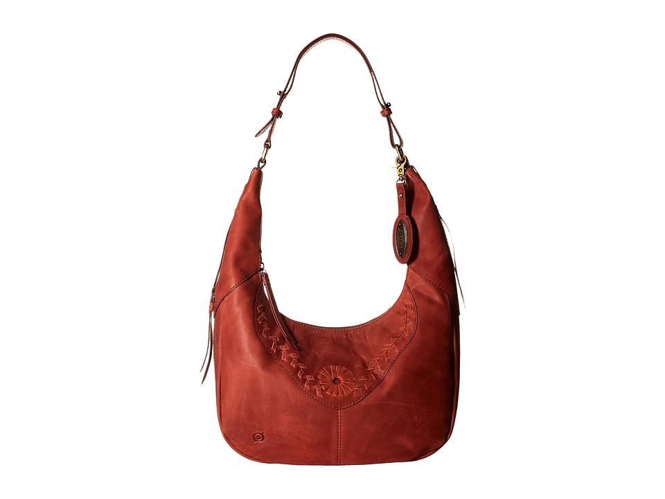 Born - Tanvi Hobo (Lipstick) Hobo Handbags