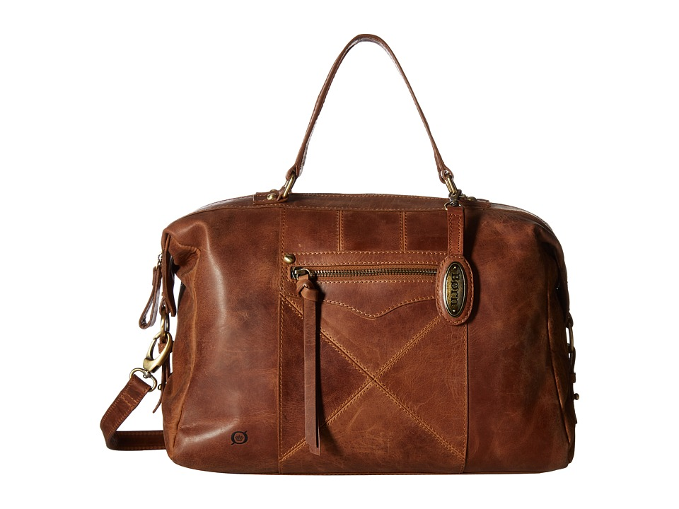 Born - Ainslie Satchel (Saddle) Satchel Handbags
