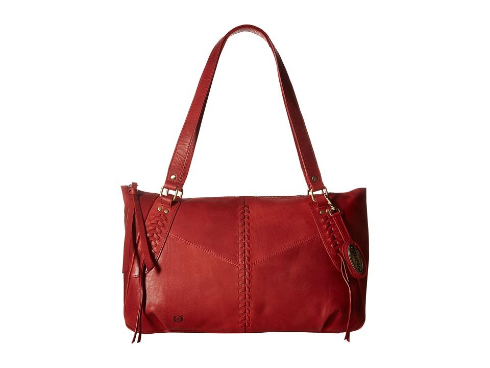 Born - Isanvi Tote (Lipstick) Tote Handbags