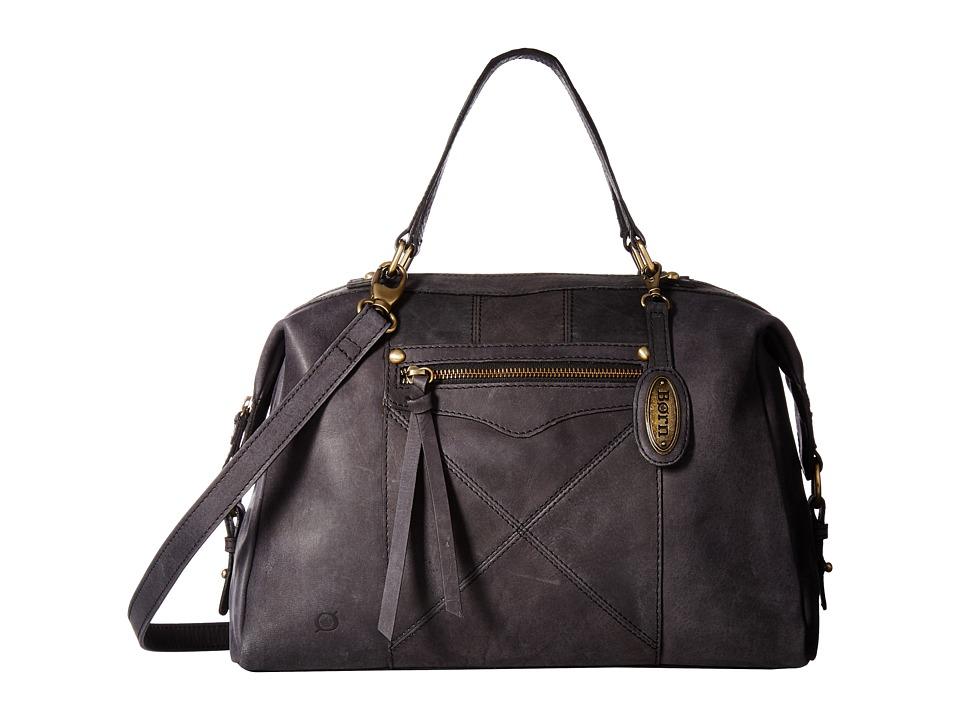 Born - Ainslie Satchel (Black) Satchel Handbags