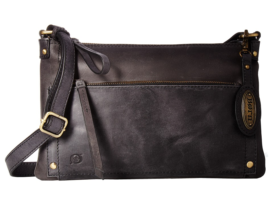 Born - Bromton Crossbody Clutch (Black) Clutch Handbags