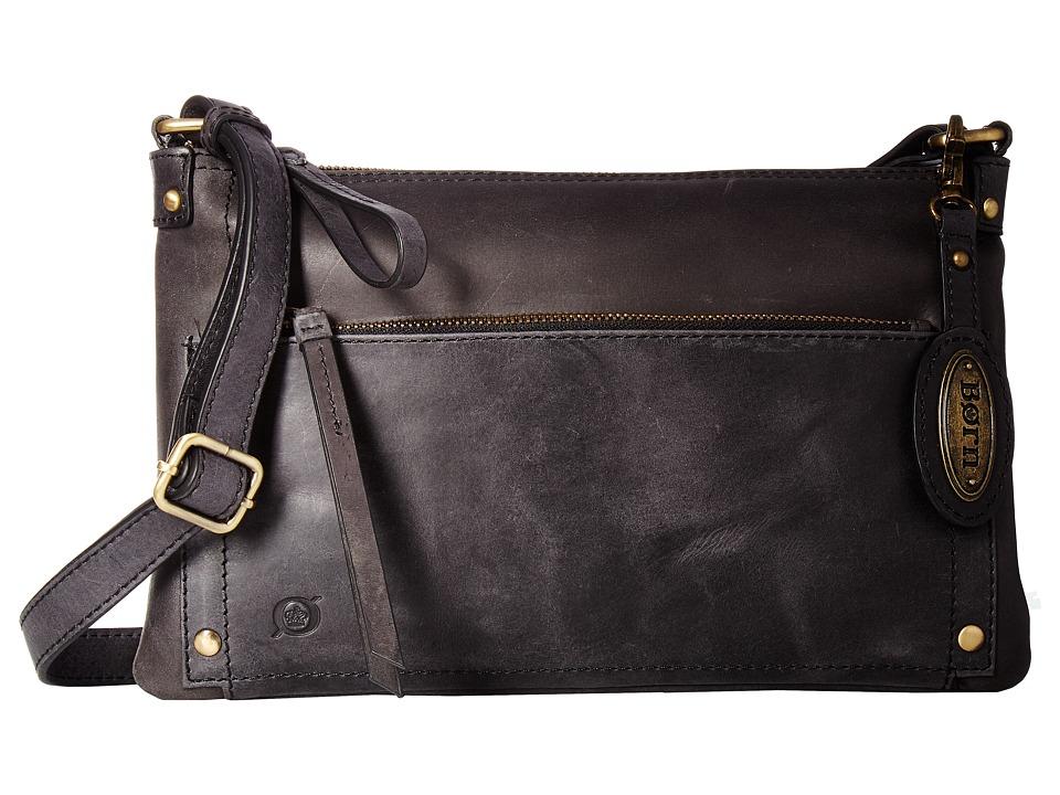 Born - Bromton Crossbody Clutch (Black) Clutch Handbags