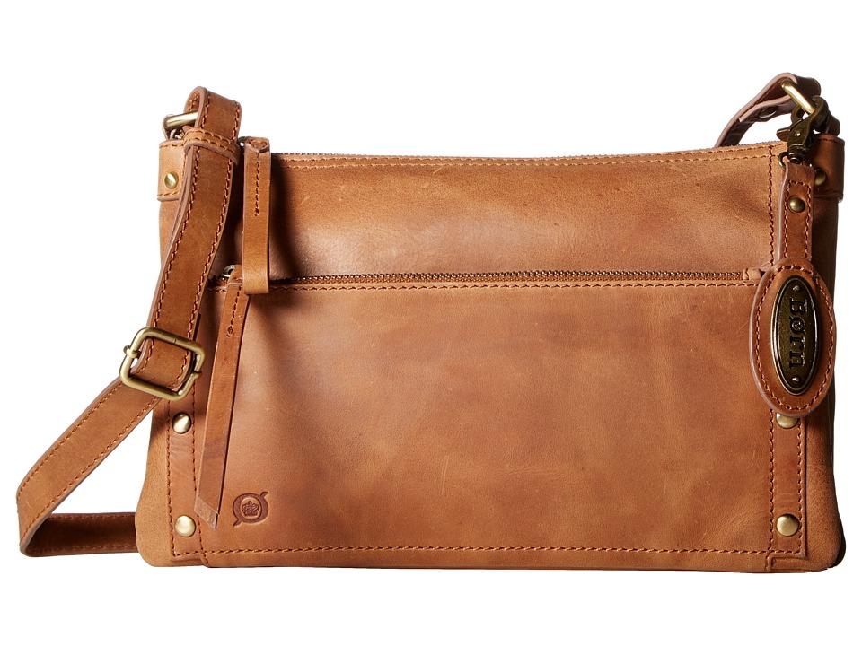 Born - Bromton Crossbody Clutch (Saddle) Clutch Handbags