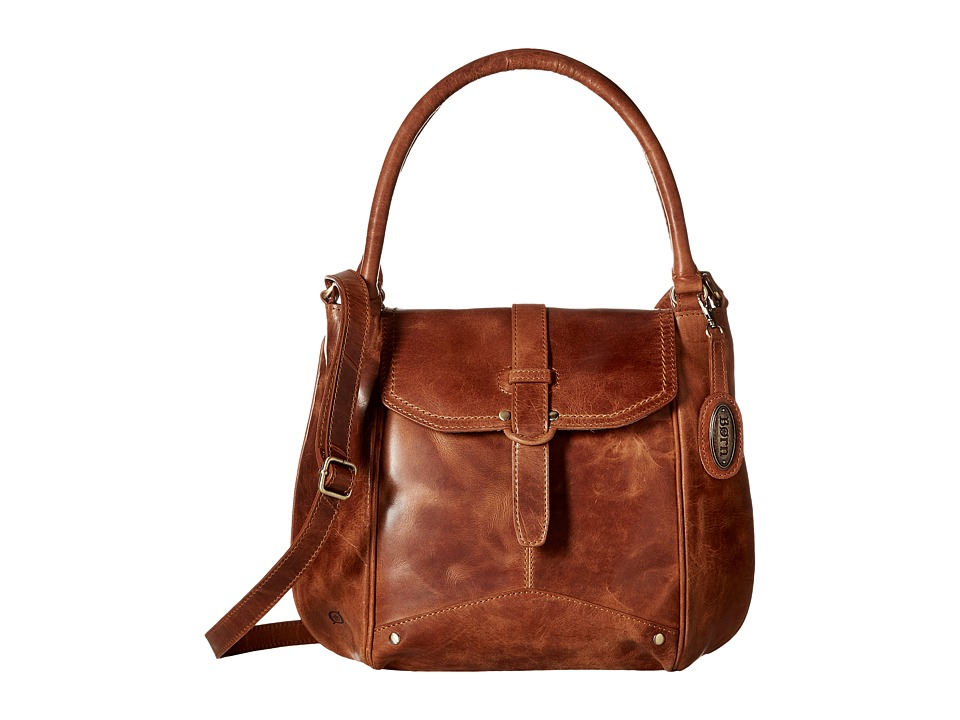 Born - Shanaya Tote (Saddle) Tote Handbags