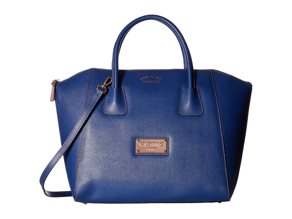 Valentino Bags by Mario Valentino - Gigi (Blue Denim) Handbags