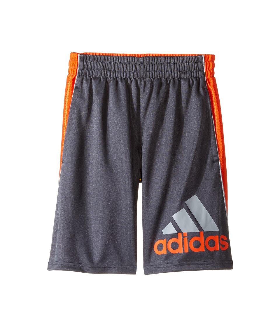 adidas Kids - Midfielder Shorts (Big Kids) (Dark Grey) Boy's Shorts
