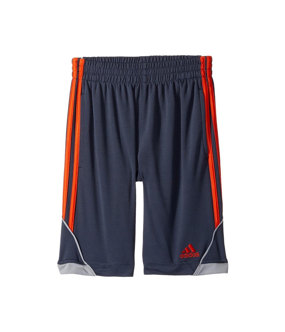 adidas Kids - Dynamic Speed Shorts (Big Kids) (Grey/Grey) Boy's Shorts
