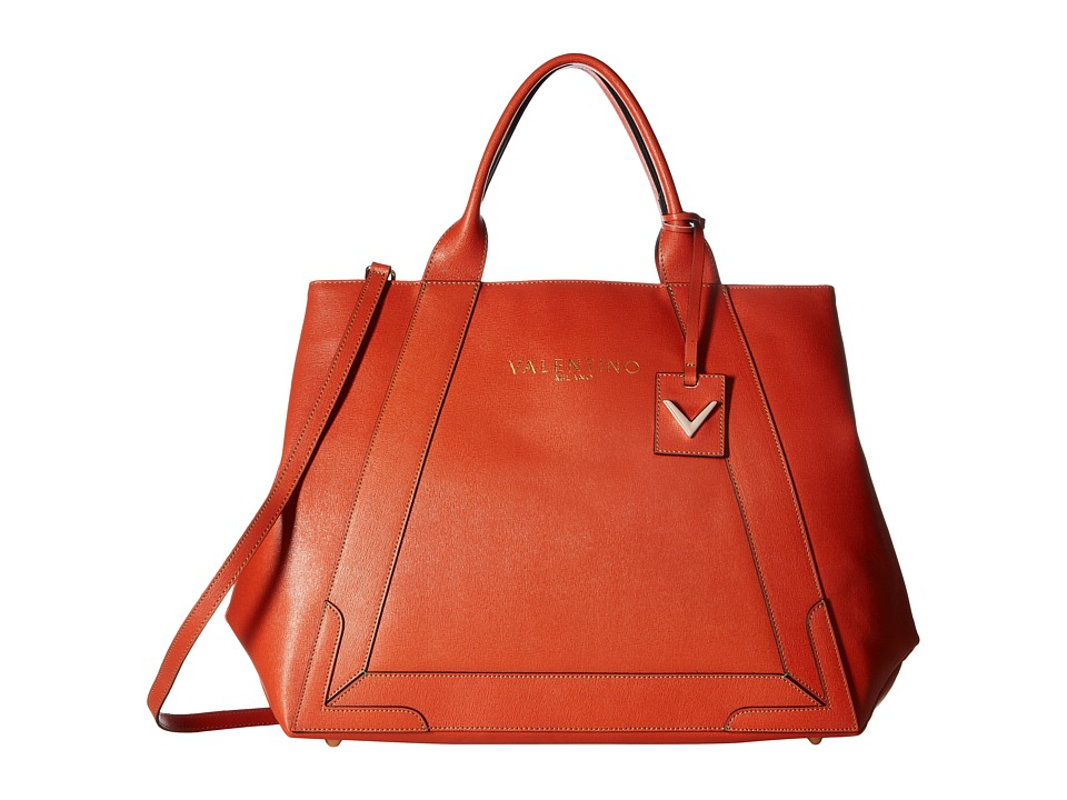 Valentino Bags by Mario Valentino - Adele (Orange) Handbags