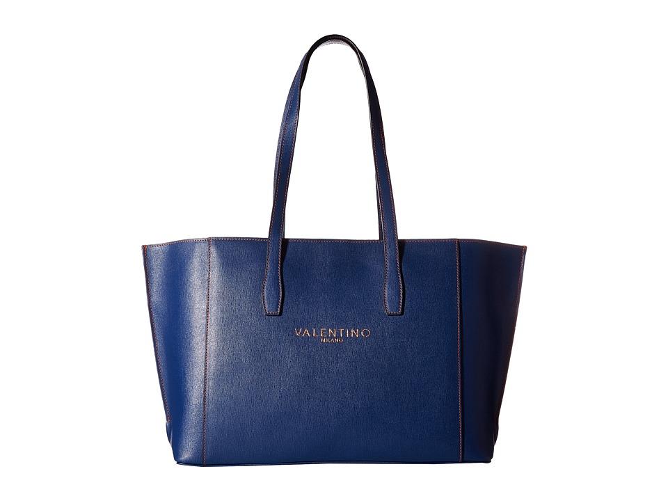 Valentino Bags by Mario Valentino - Adele (Blue Denim) Handbags