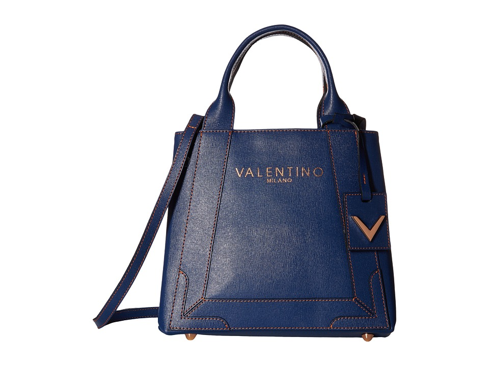 Valentino Bags by Mario Valentino - Audrey (Blue Denim) Handbags