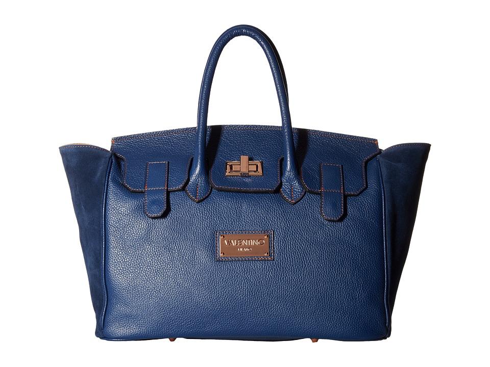 Valentino Bags by Mario Valentino - Omia (Blue Denim) Handbags