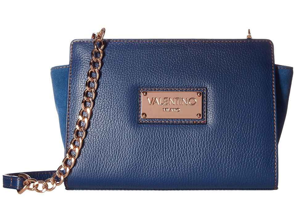 Valentino Bags by Mario Valentino - Kiki (Blue Denim) Handbags