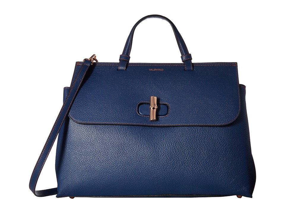 Valentino Bags by Mario Valentino - Olimpia (Blue Denim) Handbags