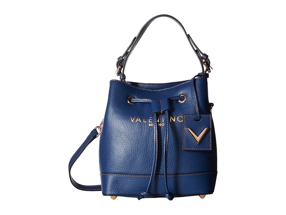 Valentino Bags by Mario Valentino - Leon (Blue Denim) Handbags