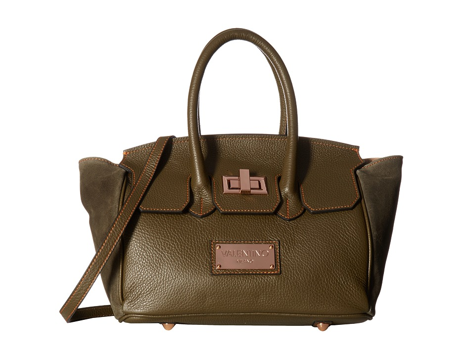 Valentino Bags by Mario Valentino - Georgette (Army Green) Handbags
