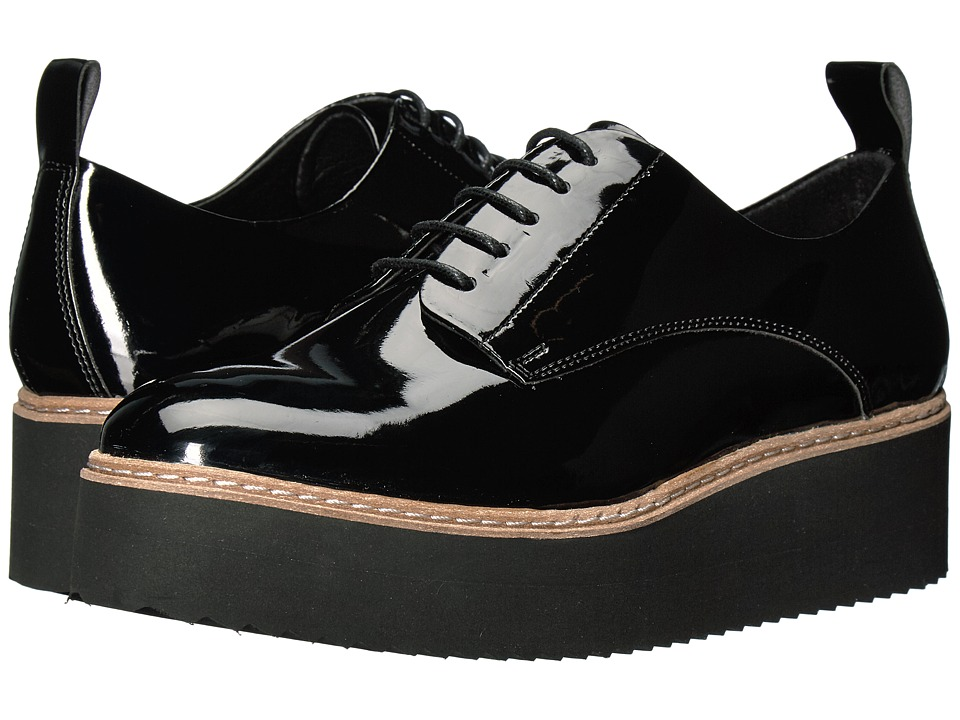 Shellys London - Teivis Platform Oxford (Black) Women's Shoes