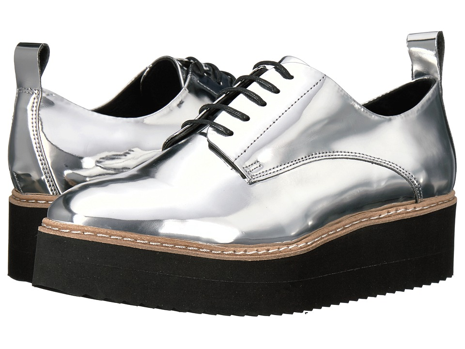 Shellys London Teivis Platform Oxford (Silver) Women