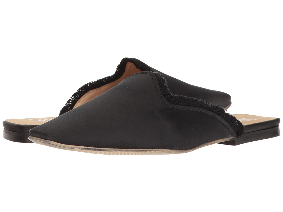 Shellys London Kat Satin Mule (Black) Women