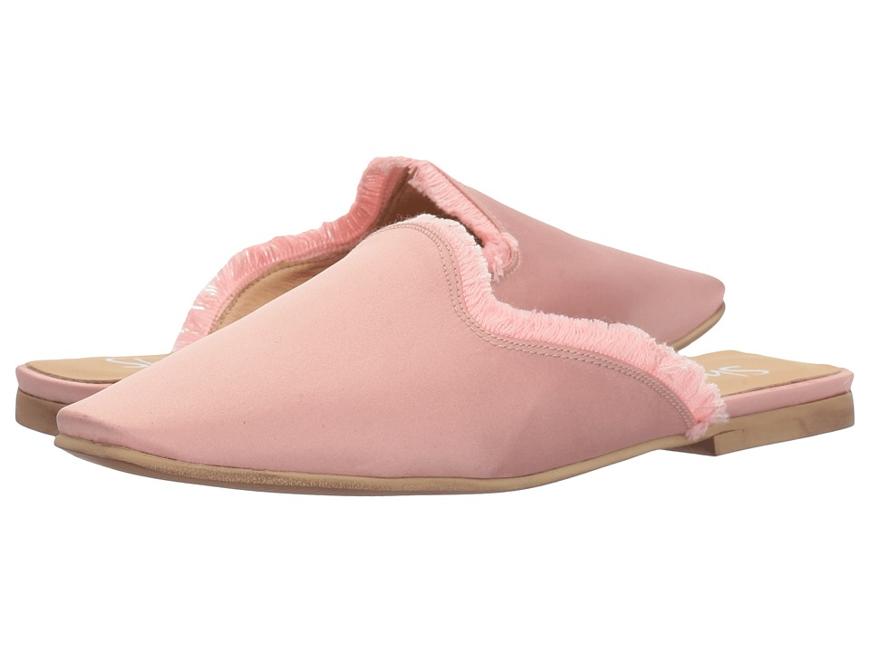 Shellys London - Kat Satin Mule (Light Pink) Women's Shoes