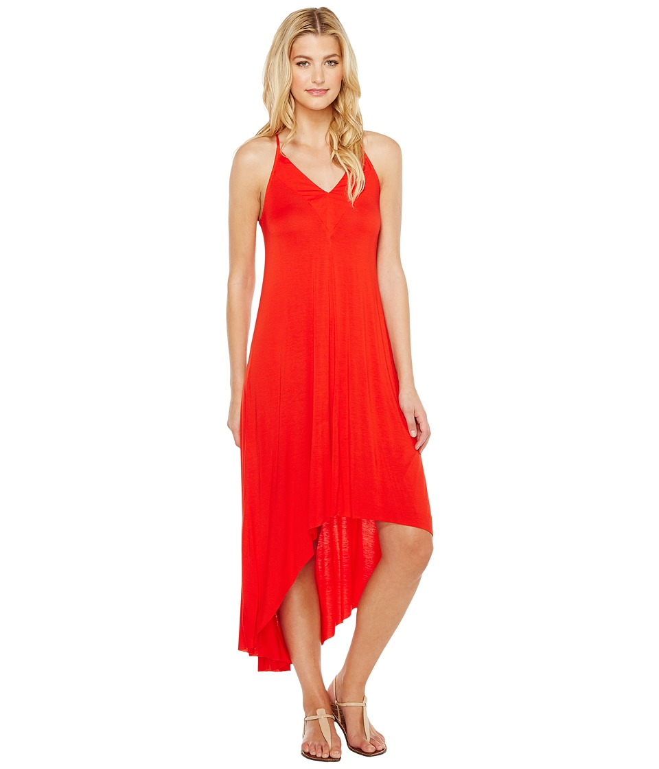 Splendid - V-Neck Dress (Fiesta) Women's Dress