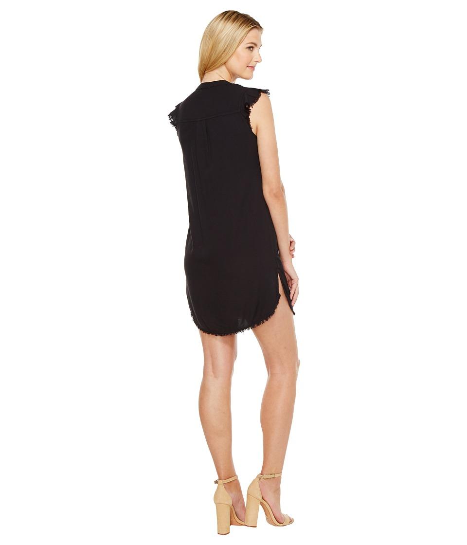 Splendid Henley Dress (Black) Women