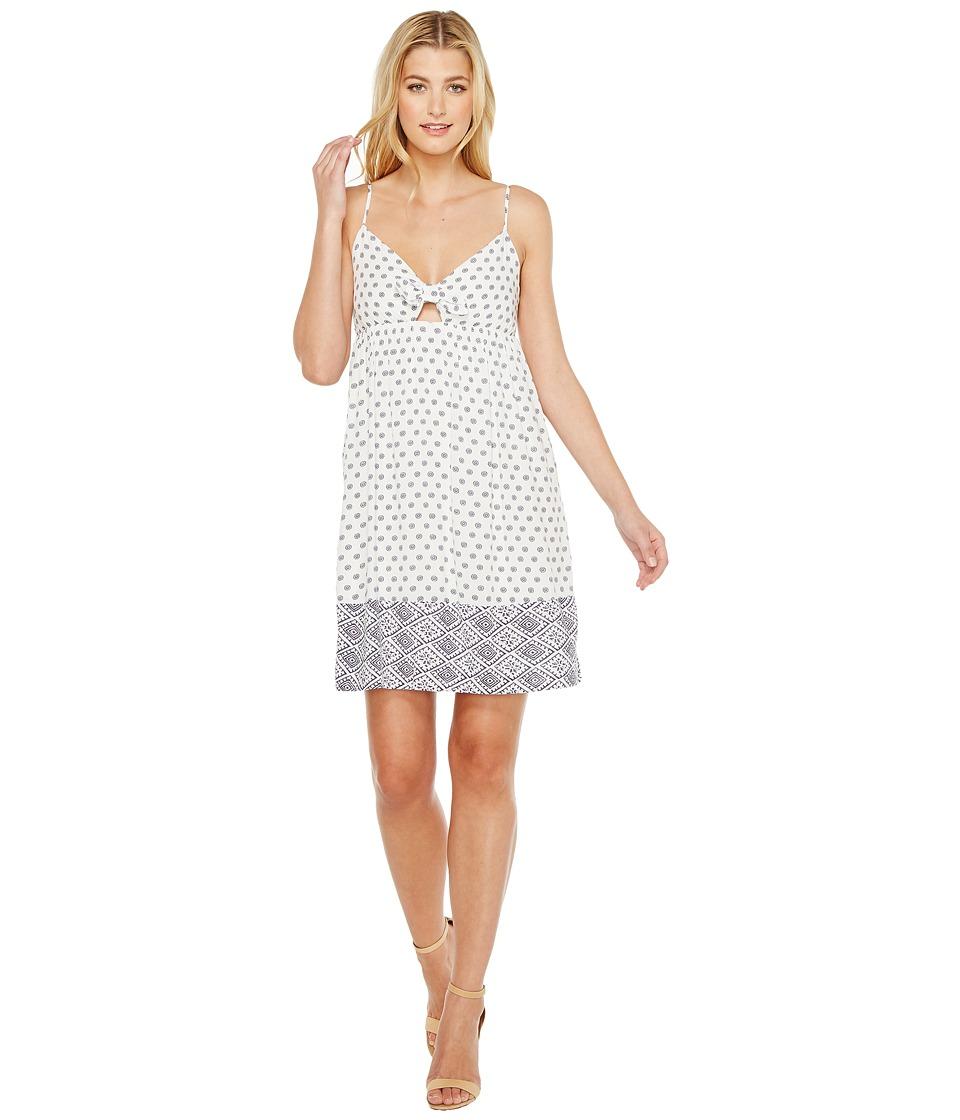 Splendid - Twist Front Dress (White) Women's Dress